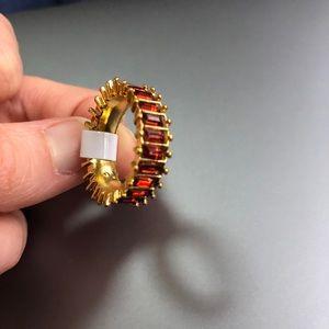 Gemstone Eternity Ring Size 7